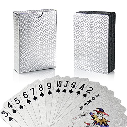 Two Decks Of Waterproof Design By Bullets Playing Cards. Poker Cards In Deluxe