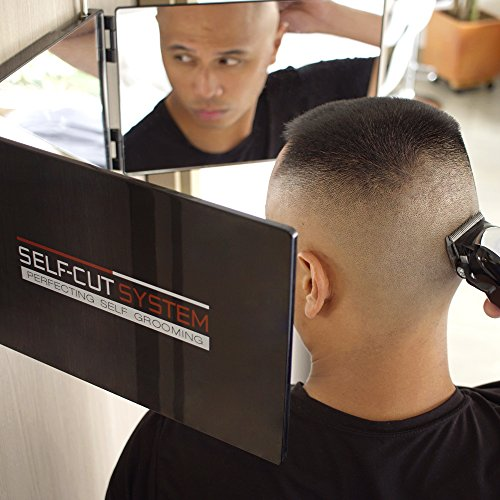 Self Cut System Travel Version Three Way Mirror For Self