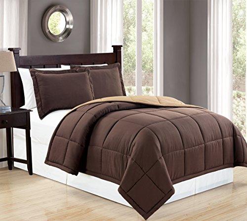 Mk Collection Down Alternative Comforter Set 2 Pc Twin