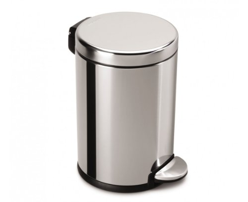 Simplehuman Profile Step Trash Can Brushed Stainless