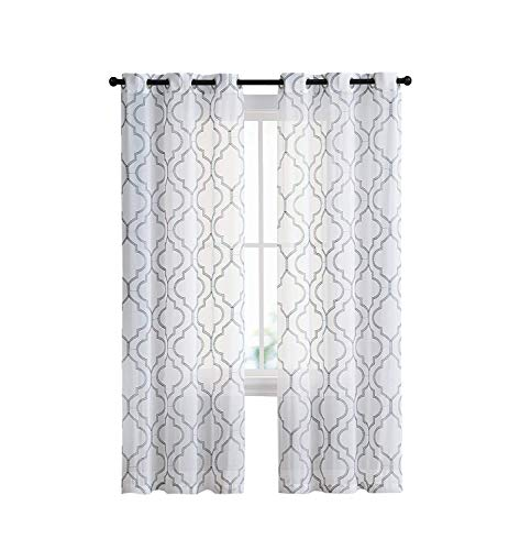 White Curtain 84 Inches Long Thermal Insulated Window