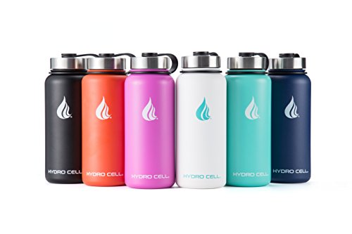 f953bb0933 Are you looking for a water bottle that keeps drinks ice cold or super hot  for hours on end for ultimate freshness? Then you need the Hydro Cell  Stainless ...