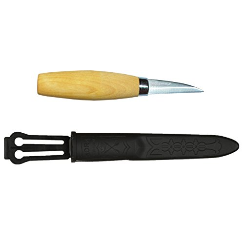 Mora Carving Knife 122: Morakniv Wood Carving 122 Knife With Laminated Steel Blade