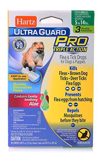 Hartz Hz Ugpro Ft Drps Dg 60lbs Size 22z Ultraguard Pro