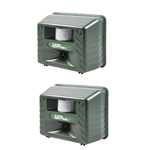 2 Pack Mtl Evictor Eye Solar Powered Animal Repeller For